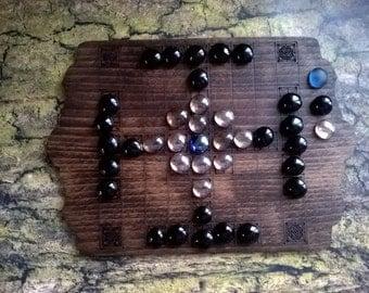 11f. Hnefatafl set viking board game , medieval game, reenactment