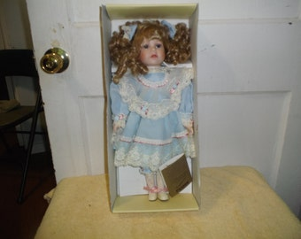 "Angela"" Seymour Mann Connoisseur Doll - Limited Edition, Hand Painted"