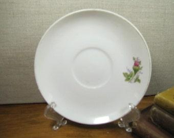 Vintage Rosebud Saucer - Made in Japan
