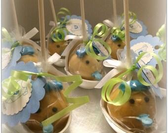 Baby Shower Cake Pops, Children's Cake Pops, Cake Pops, Birthday Cake Pops