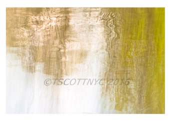 abstract water in camera blur