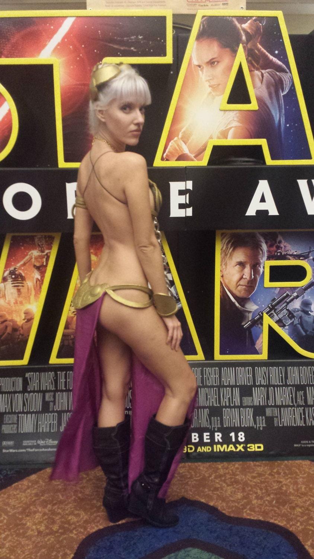 Bikini costume leia princess