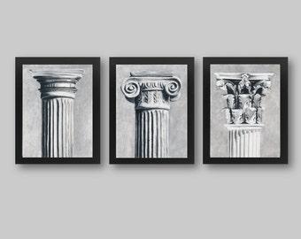 Set of 3 Columns