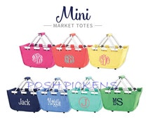 Personalized Easter Market Totes