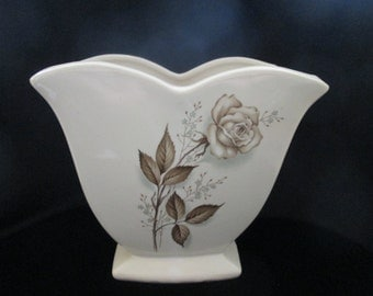 Mccoy Cream Vase Etsy