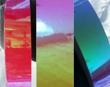 Transparent Color Shifting Hoop Tape **ADD ON**