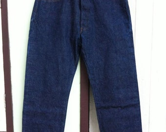 Vintage Levi's 501 Red Line W35 L30 One Wash
