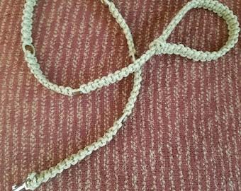 Handmade Hemp Dog Leash