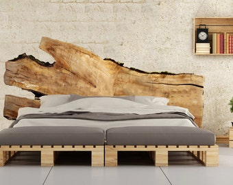 Live Edge Headboards - Beautiful large wood slabs handcrafted into Unique,  One of a Kind