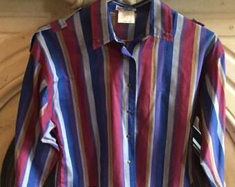 Vintage crop blouse