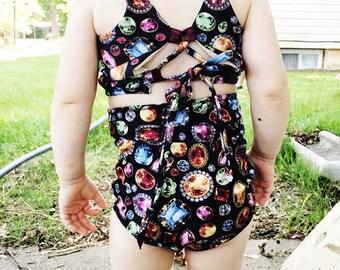 Baby / Toddler High Waist Swimsuit