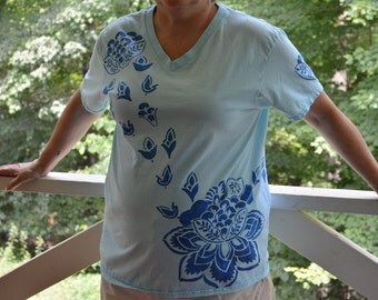 Blue Lotus shirt