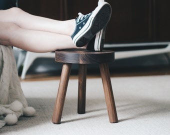 Stool: Handcrafted Milkmaid Stool