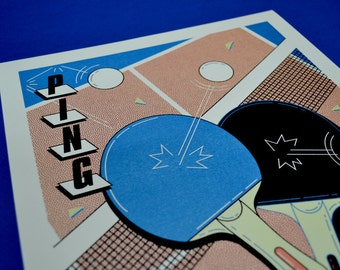 Poster A3 - Ping Pong