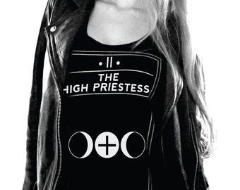 Tarot |  The High Priestess | Flowy Tank