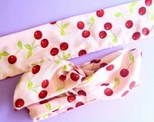 Cherry Pin Up Wire Hair Wrap