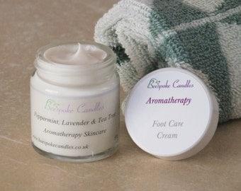 Aromatherapy Foot Care Cream, Natural Cream, Essential Oils