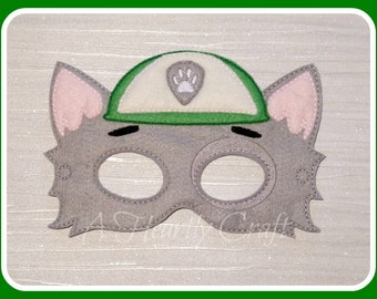 Rocky Mask - Paw Patrol - Halloween Costume - Party Favor