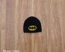 Batman Hat, Crochet Batman Hat, Batman Baby Hat, Bat Hat, Man Hat, Baby Photo Prop, Batman Photo Prop,Baby Batman Prop,Baby Shower,Baby Gift