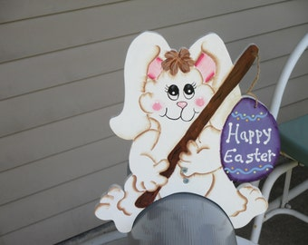 Easter Rabbit Mail Box Greeter