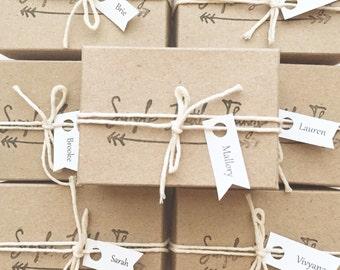 Bridesmaid Gift Packaging / Wedding / Bridal Gift