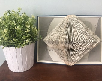 Book Sculpture // Home Decor // Housewarming Gift // Unique Gift