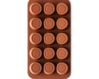 PEANUT BUTTER CUP Silcone Chocolate Mold