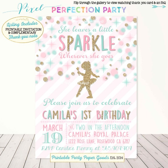 Items similar to She Leaves A Little Sparkle Wherever She ...
