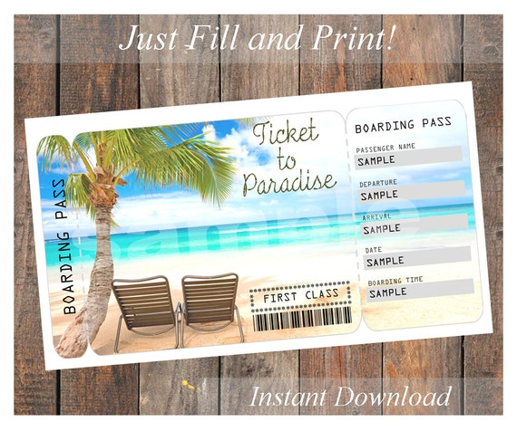 Inventive image within printable paradise