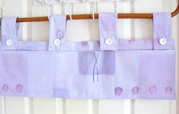 "bed caddy, bunk bed tidy, rail organizer, cot caddy,  crib hanger, bunk bed pockets, 30"" x 9.5"""