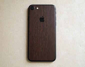 iPhone 7 Fine Wood high quality skin wrap, 3M