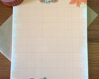 Happy Halloween Writing Paper- Stationery