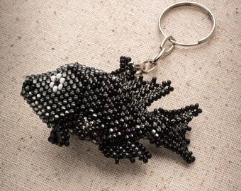 Black Fish keychain