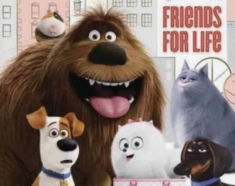Secret Life if Pets Cupcake Toppers