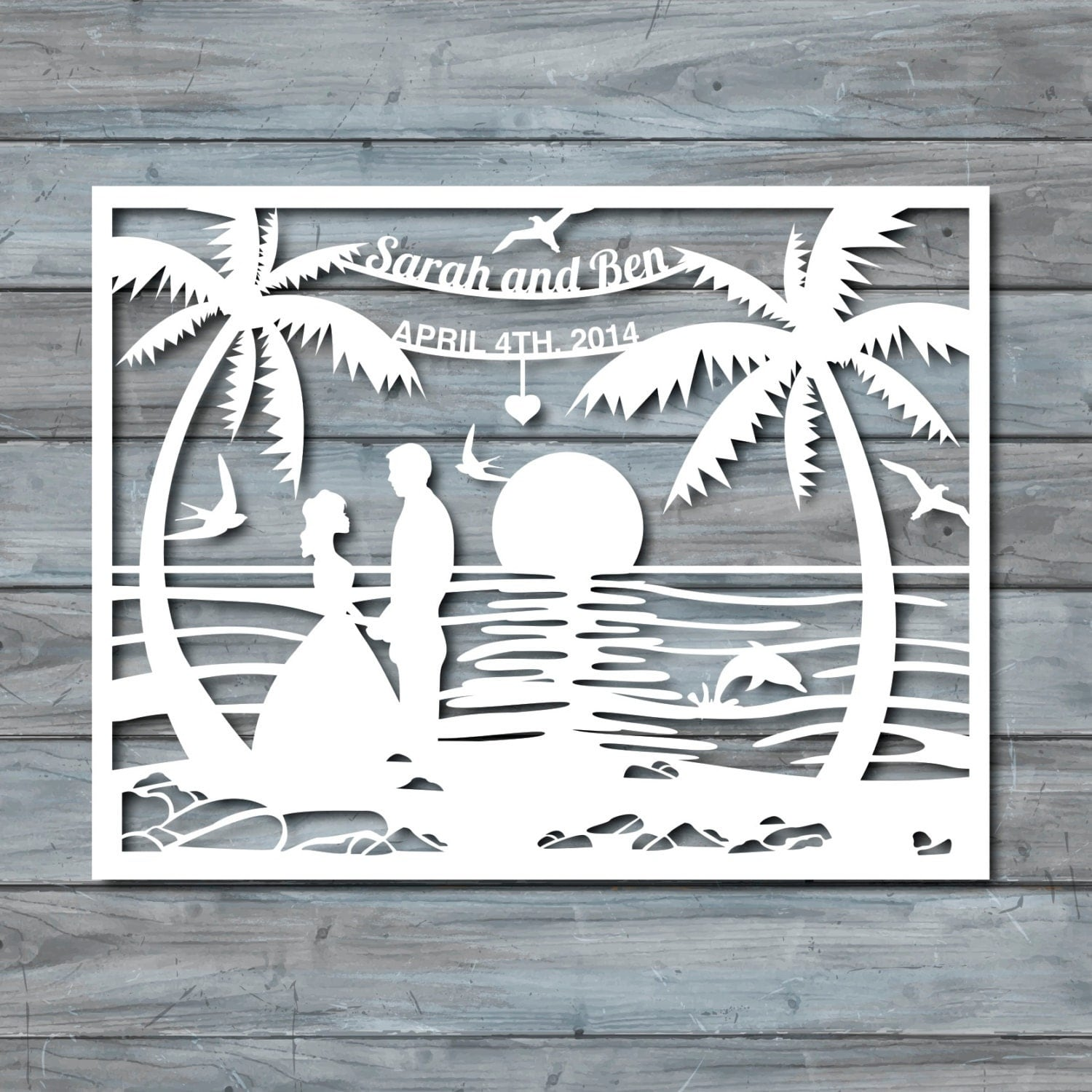 paper cut out art templates - free wedding papercut template craftbnb