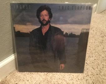 Sealed Eric Clapton August LP Vinyl Record