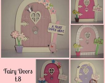 Handcrafted Wooden Fairy Doors