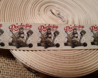 Rockabilly grosgrain ribbon, Pinup girl, Hot Rod, Rockabilly