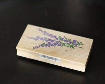 beautiful vintage lavender stamp