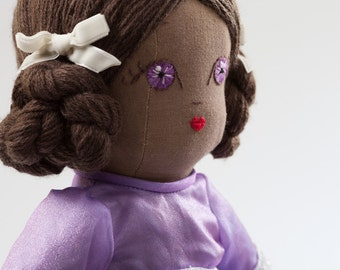 Jackie - Handmade Cloth Doll