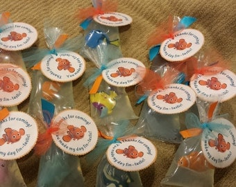 Finding Nemo Soap Favors, Set of 12