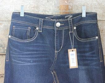Mid Length Denim Skirt, Ladies Size 6