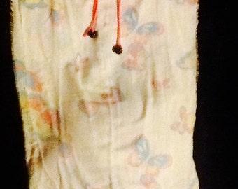 Butterfly pillowcase skirt
