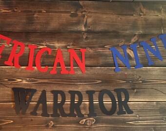 American Ninja Warrior Banner