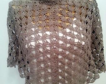 Shawl, Summer Shawl, Crochet Shawl, Shoulder wrap, Neck Warmer,Gift for Her