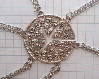 Pizza Slice Friendship Necklaces