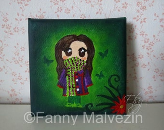 Penelope - Mini painting