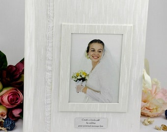 Wedding or Engagement Photo Box & Album - Personalised
