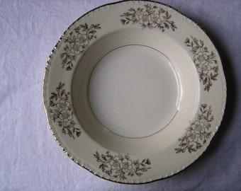 Homer Laughlin Golden Rose Soup Bowl 1947