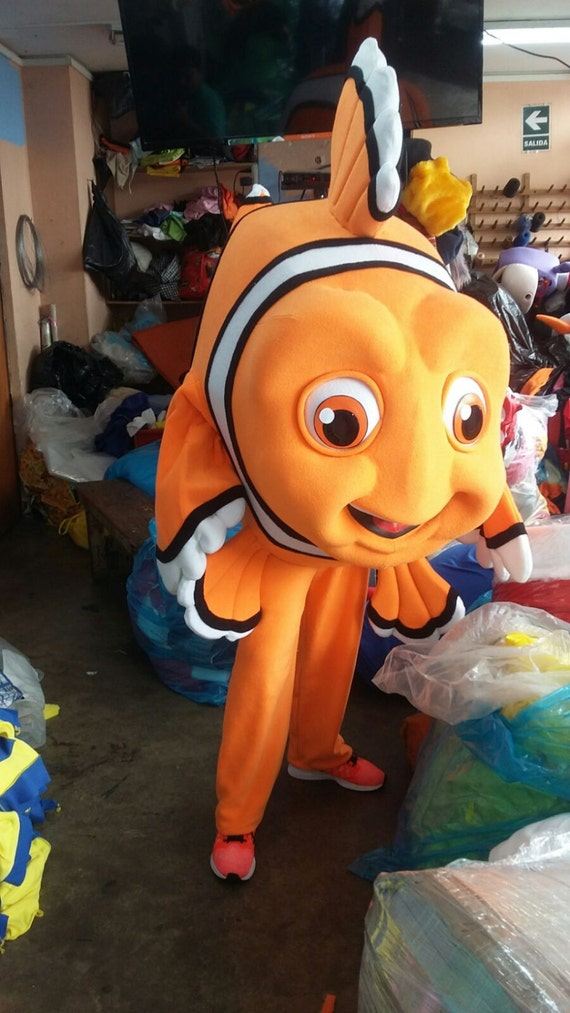 Clown fish mascot costume adult costume by adultmascotcostumes for Clown fish costume